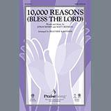 Heather Sorenson 10,000 Reasons (Bless The Lord) - Violin 1 Sheet Music and Printable PDF Score   SKU 310422