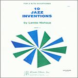 Lennie Niehaus 10 Jazz Inventions (altos) Sheet Music and Printable PDF Score | SKU 371213