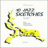 Lennie Niehaus 10 Jazz Sketches, Volume 1 Sheet Music and Printable PDF Score | SKU 371212