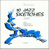 Lennie Niehaus 10 Jazz Sketches, Volume 2 (altos) Sheet Music and Printable PDF Score | SKU 339292