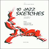 Lennie Niehaus 10 Jazz Sketches, Volume 3 (altos) Sheet Music and Printable PDF Score | SKU 404863