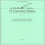 Charles Yates 12 Classics Duets (from 24 Duettos In An Easy, Pleasing Style) Sheet Music and Printable PDF Score | SKU 125060