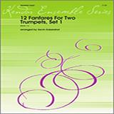 Kaisershot 12 Fanfares For Two Trumpets, Set 1 Sheet Music and Printable PDF Score | SKU 124813