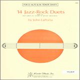 John LaPorta 14 Jazz-Rock Duets (alto & tenor sax) Sheet Music and Printable PDF Score | SKU 125062