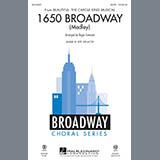 Roger Emerson 1650 Broadway (Medley) - Bass Sheet Music and Printable PDF Score   SKU 341995