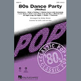 Kirby Shaw 80s Dance Party (Medley) Sheet Music and Printable PDF Score   SKU 283992