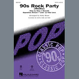 Kirby Shaw 90's Rock Party (Medley) Sheet Music and Printable PDF Score   SKU 91538