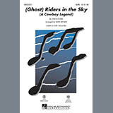 Mark Brymer (Ghost) Riders In The Sky (A Cowboy Legend) - Bass Sheet Music and Printable PDF Score | SKU 281599