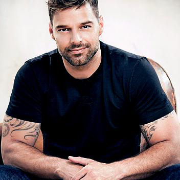 Ricky Martin image and pictorial