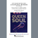 Aretha Franklin (You Make Me Feel Like) A Natural Woman (Pre-Opener) (arr. Jay Dawson) - Bari Sax Sheet Music and Printable PDF Score | SKU 415210