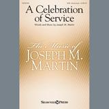 Joseph M. Martin A Celebration Of Service Sheet Music and Printable PDF Score | SKU 413412