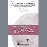 Mark Brymer A Celtic Fantasy - Bodhran Drum/Bass Drum Sheet Music and Printable PDF Score | SKU 268860