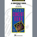 Alan Silvestri A Christmas Carol (Main Title) (arr. Robert Longfield) - Bb Bass Clarinet Sheet Music and Printable PDF Score | SKU 419856
