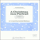 Lennie Niehaus A Christmas Jazz Portrait - 1st Eb Alto Saxophone Sheet Music and Printable PDF Score | SKU 340939
