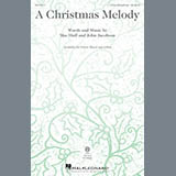 Mac Huff & John Jacobson A Christmas Melody Sheet Music and Printable PDF Score | SKU 252064
