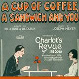 Joseph Meyer A Cup Of Coffee, A Sandwich And You Sheet Music and Printable PDF Score | SKU 108527