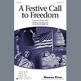 Joseph Martin A Festive Call to Freedom - Percussion 2 Sheet Music and Printable PDF Score | SKU 319730