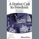 Joseph Martin A Festive Call to Freedom - Trumpet 1 Sheet Music and Printable PDF Score | SKU 319724