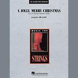 John Leavitt A Jolly, Merry Christmas - Violin 1 Sheet Music and Printable PDF Score | SKU 281685