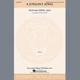 Norman Dello Joio A Jubilant Song (arr. Stan McGill) Sheet Music and Printable PDF Score   SKU 97132
