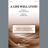 Braeden Ayres A Life Well Lived Sheet Music and Printable PDF Score | SKU 490996