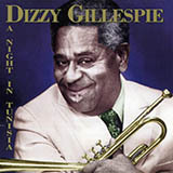 Dizzy Gillespie A Night In Tunisia Sheet Music and Printable PDF Score | SKU 17437