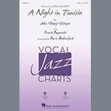 Dizzy Gillespie A Night in Tunisia (arr. Paris Rutherford) - Drums Sheet Music and Printable PDF Score | SKU 403836