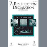 Victor C. Johnson A Resurrection Declaration - Bb Trumpet 1,2 Sheet Music and Printable PDF Score | SKU 361067