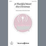 Ruth Elaine Schram A Thankful Heart This Christmas Sheet Music and Printable PDF Score | SKU 152219
