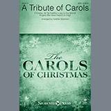 Heather Sorenson A Tribute of Carols - Bass Clarinet (sub. Bassoon) Sheet Music and Printable PDF Score | SKU 376934