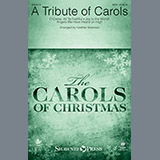 Heather Sorenson A Tribute of Carols - Bb Trumpet 1 Sheet Music and Printable PDF Score | SKU 376921