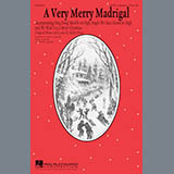 Kirby Shaw A Very Merry Madrigal Sheet Music and Printable PDF Score   SKU 177453