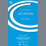Lee Kesselman Ad Amore Sheet Music and Printable PDF Score   SKU 177581