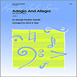 Harry R. Gee Adagio And Allegro (From Sonata In C Minor) - Piano Sheet Music and Printable PDF Score   SKU 336866