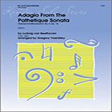 Yasinitsky Adagio From The Pathetique Sonata (Themes From Movement II, No. 8, Op. 13) - Alto Sax Sheet Music and Printable PDF Score   SKU 354163