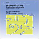 Yasinitsky Adagio From The Pathetique Sonata (Themes From Movement II, No. 8, Op. 13) - Clarinet Sheet Music and Printable PDF Score   SKU 354173