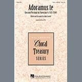 John Leavitt Adoramus Te Sheet Music and Printable PDF Score   SKU 289796