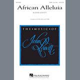 John Leavitt African Alleluia Sheet Music and Printable PDF Score   SKU 177441