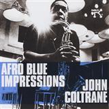 John Coltrane Afro Blue Sheet Music and Printable PDF Score | SKU 61402