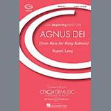 Rupert Lang Agnus Dei Sheet Music and Printable PDF Score | SKU 70894