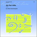 Arthur Frackenpohl Air For Alto - Alto Sax Sheet Music and Printable PDF Score   SKU 317063