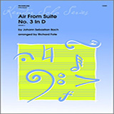 Fote Air From Suite #3 In D - Piano Sheet Music and Printable PDF Score | SKU 317077