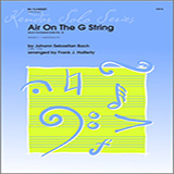 Halferty Air On The G String (from Orchestral Suite No. 3) - Clarinet Sheet Music and Printable PDF Score   SKU 313335