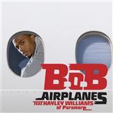 B.o.B Airplanes (feat. Hayley Williams) Sheet Music and Printable PDF Score   SKU 102965