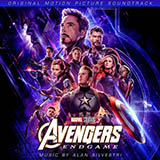 Alan Silvestri Totally Fine (from Avengers: Endgame) Sheet Music and Printable PDF Score | SKU 416055