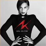 Download or print Alicia Keys Girl On Fire Digital Sheet Music Notes and Chords - Printable PDF Score
