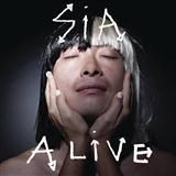 Sia Alive Sheet Music and Printable PDF Score   SKU 122256