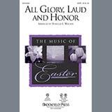 Douglas E. Wagner All Glory, Laud And Honor - Handbells Sheet Music and Printable PDF Score | SKU 289317