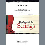 Larry Moore All of Me - Violin 1 Sheet Music and Printable PDF Score   SKU 368762