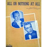 Frank Sinatra All Or Nothing At All Sheet Music and Printable PDF Score | SKU 13618